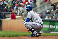 David Wright #5 of the New York Mets waits on-deck during a game against the Minnesota Twins on April 13, 2013 at Target Field in Minneapolis, Minnesota.  The Mets defeated the Twins 4 to 2.  Photo: Ben Krause