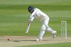 Gareth Roderick of Gloucestershire bats - Photo mandatory by-line: Dougie Allward/JMP - Mobile: 07966 386802 - 08/06/2015 - SPORT - Football - Bristol - County Ground - Gloucestershire Cricket v Lancashire Cricket Day 2 - LV= County Championship