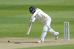 Gareth Roderick of Gloucestershire bats - Photo mandatory by-line: Dougie Allward/JMP - Mobile: 07966 386802 - 08/06/2015 - SPORT - Football - Bristol - County Ground - Gloucestershire Cricket v Lancashire Cricket Day 2 - LV= County Championship