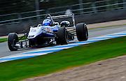 2012 British F3 International Series.Donington Park, Leicestershire, UK.27th - 30th September 2012.Geoff Uhrhane, Double R Racing..World Copyright: Jamey Price/LAT Photographic.ref: Digital Image Donington_F3-18306