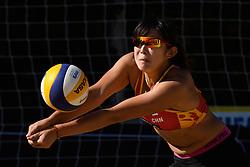 10-06-2016 DUI: Smart Major Beach Volleyball World Tour, Hamburg<br /> Yuan Yue #2<br /> <br /> ***NETHERLANDS ONLY***