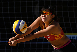 10-06-2016 DUI: Smart Major Beach Volleyball World Tour, Hamburg<br /> Yuan Yue #2<br /> <br /> ***NETHERLANDS ONLY***
