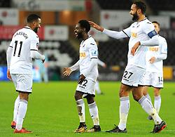 Tammy Abraham of Swansea City scores a goal making it 1-0  - Mandatory by-line: Nizaam Jones/JMP - 06/02/2018 - FOOTBALL - Liberty Stadium - Swansea, Wales - Swansea City v Notts County - Emirates FA Cup fourth round proper
