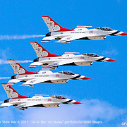 Thunderbirds, Travis AFB, May 6, 2017
