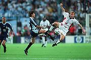 PAUL SCHOLES & MATIAS ALMEYDA.ENGLAND V ARGENTINA.30/06/1998.DL26C20C