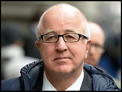 Ex-Labour minister and MP Denis MacShane leaves the Old Bailey, London, United Kingdom, after pleading guilty to false accounting over parliamentary expenses, Monday, 18th November 2013. Picture by Andrew Parsons / i-Images