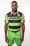 Forest Green Rovers Dan Wishart(17) during the Forest Green Rovers Photocall at the New Lawn, Forest Green, United Kingdom on 31 July 2017. Photo by Shane Healey.