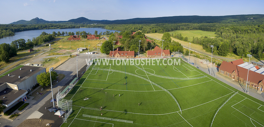 Warwick, New York - Aerial view of The Yard Sports Village on June 26, 2016.