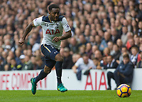 Football - 2016 / 2017 Premier League - Tottenham Hotspur vs. Leicester City<br /> <br /> Danny Rose of Tottenham at speed at White Hart Lane.<br /> <br /> COLORSPORT/DANIEL BEARHAM