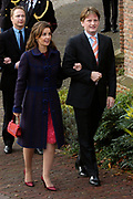 Hare Koninklijke Hoogheid Prinses Alexia, de jongste dochter van Zijne Koninklijke Hoogheid de Prins van Oranje en Hare Koninklijke Hoogheid Prinses M&aacute;xima, is zaterdag 19 november 2005 gedoopt in de Dorpskerk in Wassenaar. <br /> <br /> Baptism of Princess Alexia, the youngest daughter of Prince Willem-Alexander and Princess M&aacute;xima. Princess Alexia (born June 26, 2005) has been baptized in the church in Wassenaar. The ceremony was attended by The Dutch Royal Family and the parents of Princess M&aacute;xima.  <br /> <br /> Op de foto / On the photo:<br /> <br /> <br /> Zijne Hoogheid Prins Pieter-Christiaan van Oranje-Nassau, van Vollenhoven en Hare Hoogheid Prinses Anita van Oranje-Nassau, van Vollenhoven <br /> <br /> His highness prince Pieter-Christiaan van Oranje-Nassau, of Vollenhoven and her highness princess Anita van Oranje-Nassau, of Vollenhoven