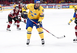 15.05.2012, Ericsson Globe, Stockholm, SWE, IIHF, Eishockey WM, Schweden (SWE) vs Lettland (LVL), im Bild Sverige Sweden 93 Johan Franzen // during the IIHF Icehockey World Championship Game between Schweden (SWE) vs Latvia (LVL) at the Ericsson Globe, Stockholm, Sweden on 2012/05/15. EXPA Pictures © 2012, PhotoCredit: EXPA/ PicAgency Skycam..***** ATTENTION - OUT OF SWE *****