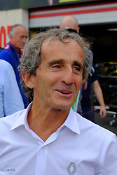 June 23, 2018 - Le Castellet, Var, France - Renault Formula one, ambassador ALAIN PROST (FRA) four time formula one world champion  during the Formula one French Grand Prix at the Paul Ricard circuit at Le Castellet - France. (Credit Image: © Pierre Stevenin via ZUMA Wire)