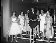 Miss World at Top Hat Ballroom, Dun Laoighaire .19/09/1959.