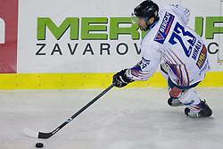 Arpad Mihaly (Sapa Fehervar AV19, #23) during ice-hockey match between HD Tilia Olimpija and HK Acroni Jesenice  in 8th Round of EBEL league, on October 3, 2010 at Hala Tivoli, Ljubljana, Slovenia. (Photo By Matic Klansek Velej / Sportida.com)