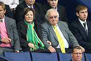 Preston - Saturday September 18th, 2010: Norwich City's Joint Majority Shareholder Delia Smith during the Npower Championship match at Deepdale, Preston. (Pic by Paul Chesterton/Focus Images)