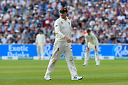 Jason Roy of England in the field during the International Test Match 2019 match between England and Australia at Edgbaston, Birmingham, United Kingdom on 3 August 2019.