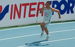 Gregor Kokalovic of Slovenia competes in the Mens 200m Heats during day three of the 20th European Athletics Championships at the Olympic Stadium on July 29, 2010 in Barcelona, Spain. (Photo by Vid Ponikvar / Sportida)