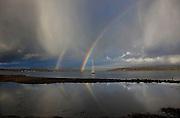 Winter showers over Loch Creran, argyll