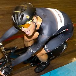 13-12-2015: Wielrennen: NK baanwielrennen: Sloten<br />AMSTERDAM (NED) baanwielrennen   <br />Op het velodrome van Sloten streden de baanwielrenners om de titel op de 50 kilometer. Nick Stopler