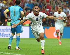 20140618 BRA: World Cup Spanje - Chili, Rio Janeiro