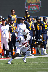 BERKELEY, CA - OCTOBER 03:  Cornerback Marcellus Pippins #27 of the Washington State Cougars intercepts a pass against the California Golden Bears during the first quarter at California Memorial Stadium on October 3, 2015 in Berkeley, California. (Photo by Jason O. Watson/Getty Images) *** Local Caption *** Marcellus Pippins