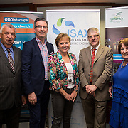 17.05.2016               <br /> A seminar focused on a Start your Own Business programme, targeted at mature entrepreneurs aged 55 plus took place in the Savoy Hotel, Limerick on Tuesday evening, 17 May.  Called Ingenuity, the programme, led by the Ireland Smart Ageing Exchange (ISAX) and sponsored by Bank of Ireland will be run in collaboration with the Local Enterprise Office in Limerick, and will take place over eight weeks, starting in late September 2016.  The seminar provided detailed information on the Start your Own Business programme that will seek interest from those looking to set up both lifestyle and fast-growth businesses.  <br /> <br /> Pictured at the event are, Eamon Ryan, CEO, Local Enterprise Office, Limerick, Pat Carroll, Start-up Community Manager, Bank of Ireland, Anne Connelly, CEO, Ireland Smart Ageing Exchange, Peter Doyle, Key Ingredients and Aine Cuddihy, Mini Cake Company. Picture: Alan Place