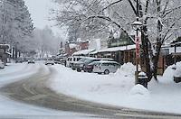 Winthrop Washington in winter