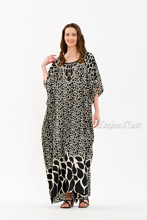 Black Flame Caftan. Photo credit: Stephen A'Court.  COPYRIGHT ©Stephen A'Court