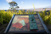 Halemaumau Crater from the Volcano House, Kilauea Volcano, HVNP, Big Island of Hawaii