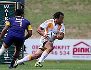 Rugby - S15 Pre Season Chiefs v Highlanders