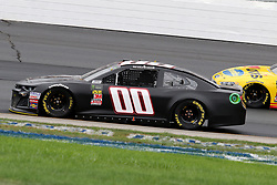 July 22, 2018 - Loudon, NH, U.S. - LOUDON, NH - JULY 22: Landon Cassill, driver of the #00 StarCom Fiber Chevy during the Monster Energy Cup Series Foxwoods Resort Casino 301 race on July, 21, 2018, at New Hampshire Motor Speedway in Loudon, NH. (Photo by Malcolm Hope/Icon Sportswire) (Credit Image: © Malcolm Hope/Icon SMI via ZUMA Press)