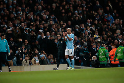 15.03.2016, Etihad Stadium, Manchester, ENG, UEFA CL, Manchester City vs Dynamo Kiew, Achtelfinale, Rueckspiel, im Bild kompany vincent // during the UEFA Champions League Round of 16, 2nd Leg match between Manchester City and FC Dynamo Kyiv at the Etihad Stadium in Manchester, Great Britain on 2016/03/15. EXPA Pictures © 2016, PhotoCredit: EXPA/ Pressesports/ MARTIN RICHARD<br /> <br /> *****ATTENTION - for AUT, SLO, CRO, SRB, BIH, MAZ, POL only*****