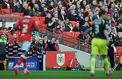 Bristol City manager, Steve Cotterill - Photo mandatory by-line: Dougie Allward/JMP - Mobile: 07966 386802 - 22/03/2015 - SPORT - Football - London - Wembley Stadium - Bristol City v Walsall - Johnstone Paint Trophy Final