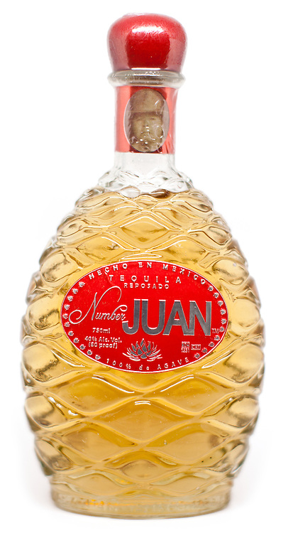 Number Juan Tequila Reposado -- Image originally appeared in the Tequila Matchmaker: http://tequilamatchmaker.com