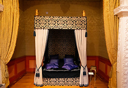 Bedroom inside The Celle Palace or Celle Castle in Celle, Lowery Saxony, Germany