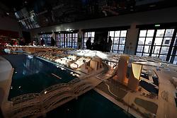 GERMANY HAMBURG 30DEC13 - Scale model of the Hamburg Hafen City redevelopment project in the Info Centre boilerhouse.<br /> <br /> <br /> <br /> jre/Photo by Jiri Rezac<br /> <br /> <br /> <br /> © Jiri Rezac 2013