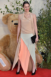 © Licensed to London News Pictures. 20/09/2017. London, UK.  PHOEBE WALLER-BRIDGE attends the world film premiere of Goodbye Christopher Robin in Leicester Square. Photo credit: Ray Tang/LNP