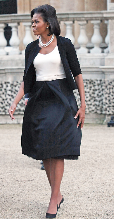 """MICHELLE OBAMA.The Queen met G20 Summit world leaders at a reception at Buckingham Palace, London_01/04/2009..Photo Distributed by : Newspix International..**ALL FEES PAYABLE TO: """"NEWSPIX INTERNATIONAL""""**..PHOTO CREDIT MANDATORY!!: NEWSPIX INTERNATIONAL(Failure to credit will incur a surcharge of 100% of reproduction fees)..IMMEDIATE CONFIRMATION OF USAGE REQUIRED:.Newspix International, 31 Chinnery Hill, Bishop's Stortford, ENGLAND CM23 3PS.Tel:+441279 324672  ; Fax: +441279656877.Mobile:  0777568 1153.e-mail: info@newspixinternational.co.uk"""
