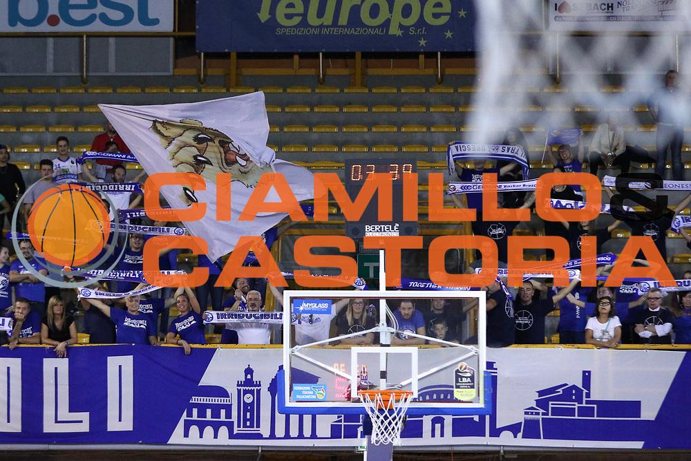 Tifosi Brescia, Germani Basket Brescia vs Stelmet Zielona Gora, 2 edizione Trofeo Roberto Ferrari, PalaGeorge di Montichiari 22 settembre 2017
