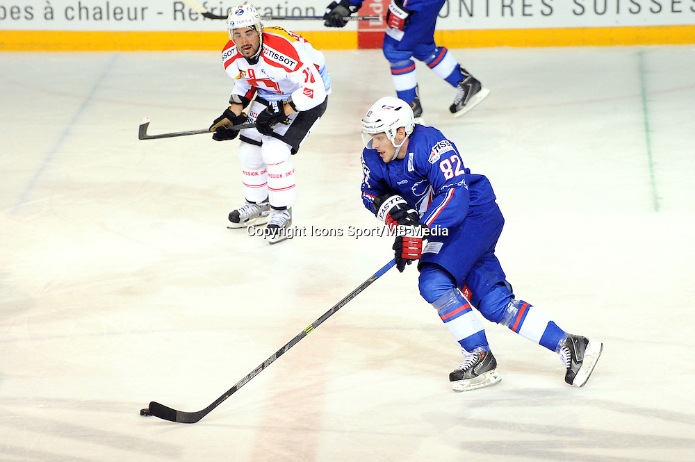 Charles BERTRAND - 24.04.2015 - France / Suisse - Match Amical -Grenoble<br />Photo : Jean Paul Thomas / Icon Sport