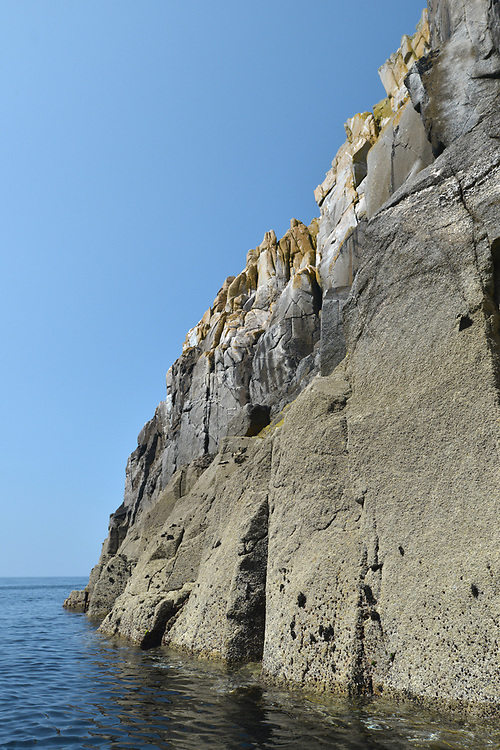 Granite rocks off the shores of the Isles of Scilly, United Kingdom