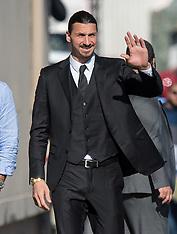 Zlatan Ibrahimovic is seen at 'Jimmy Kimmel Live' - 17 April 2018