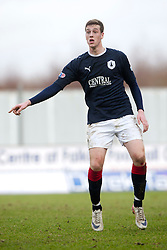 Falkirk's Jordan White..Falkirk 3 v 0 Queen of the South, 25/2/2012..© Michael Schofield.