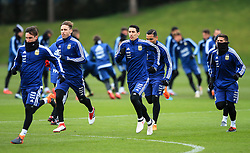 Argentina's Angel di Maria and teammates train - Mandatory by-line: Matt McNulty/JMP - 21/03/2018 - FOOTBALL - Argentina - Training session ahead of international against Italy