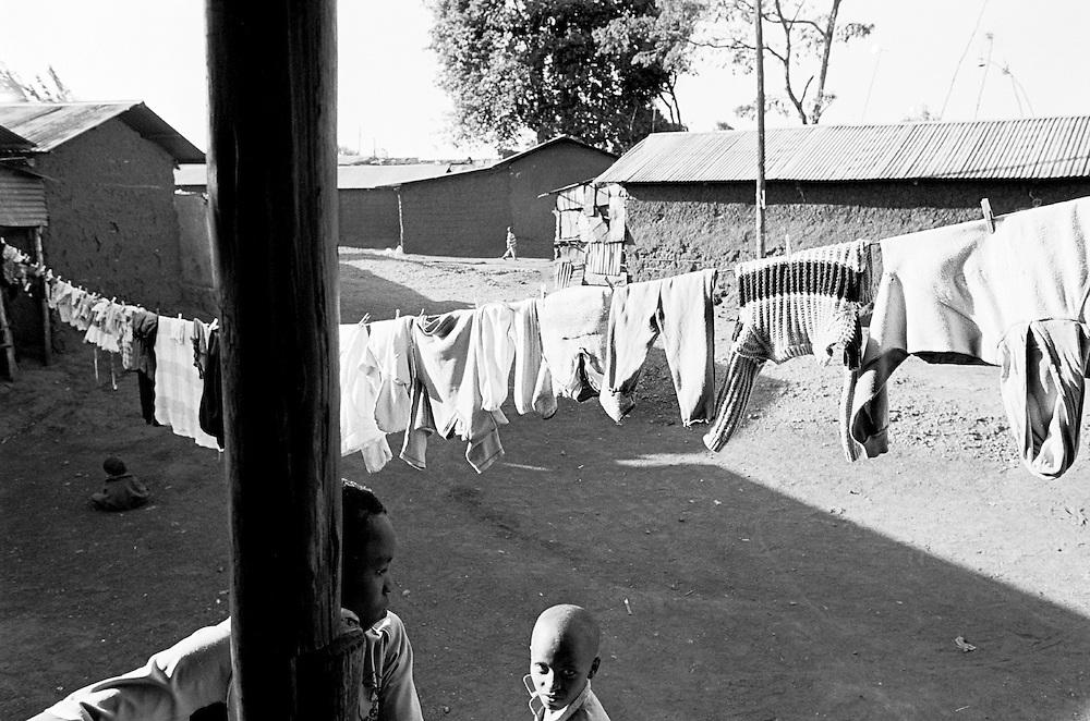 Kambi Muru section of Kibera.