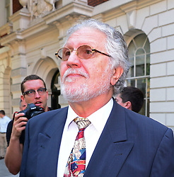 Former Radio One DJ Dave Lee Travis  at Westminster Magistrates Court in London, Friday, 23rd August 2013. Picture by Nils Jorgensen / i-Images