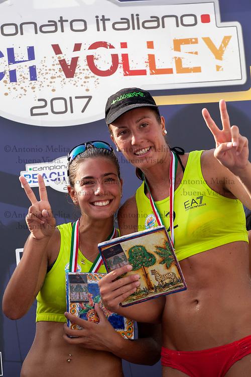 Campionato Italiano di Beach Volley: Eleonora Annibalini e Giulia Toti conquistano il 1° posto della tappa di Mondello.