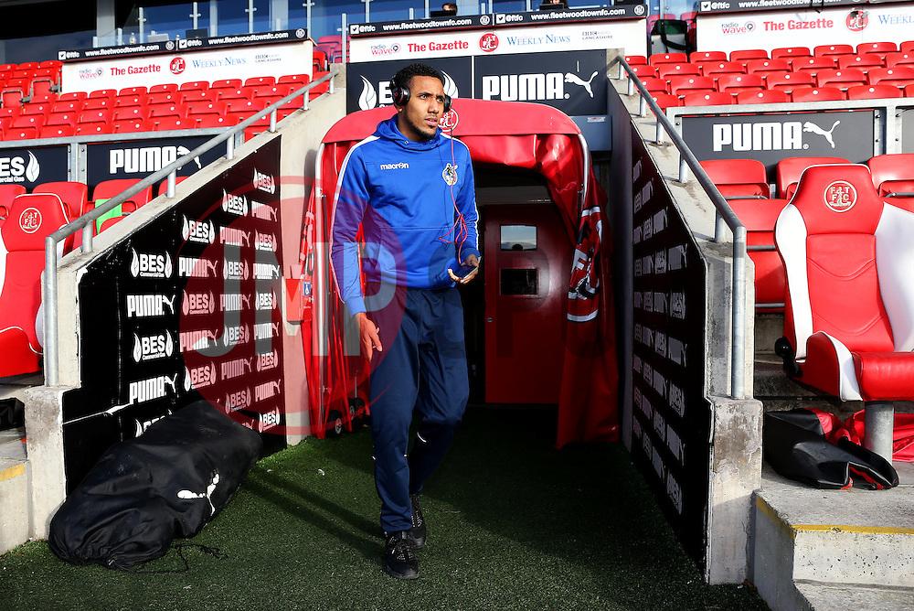 Cristian Montano of Bristol Rovers arrives at Highbury Stadium - Mandatory by-line: Matt McNulty/JMP - 14/01/2017 - FOOTBALL - Highbury Stadium - Fleetwood, England - Fleetwood Town v Bristol Rovers - Sky Bet League One