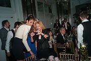 YASMIN GHANDEHARI; GERI HALLIWELL, Heather Kerzner and Marie Curie Cancer Care fundraising dinner,  Claridge's. London.