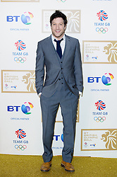 Matt Cardle during the BT Olympic Ball, held at the Grosvenor Hotel, London, UK, November 30, 2012. Photo By Anthony Upton / i-Images.